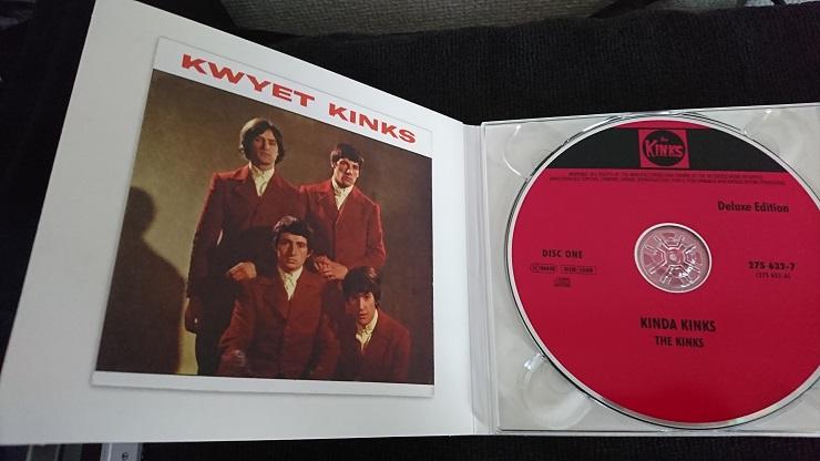 The Kinks Kinda Kinks CD