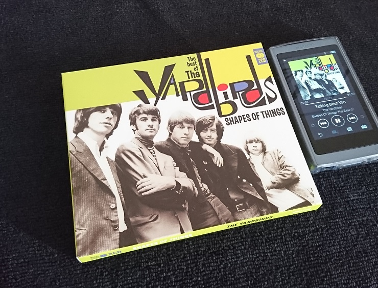 Shapes of Things the Best of the Yardbirds CD