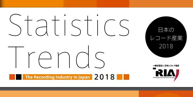 日本のレコード産業2018