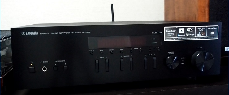 YAMAHA R-N303 ブラック